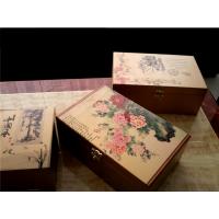 东莞木盒子 竹制工艺品 pvc无框画板 原木版画数码打印加工厂