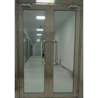 厂家直销深圳布吉201、304不锈钢玻璃防火门全国发货证件齐全