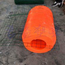 管道浮筒 聚乙烯耐腐蚀浮筒浮体 直径400*600pe浮筒加工