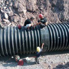 排水排污专用钢带波纹管高钢度高质量