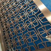 不锈钢激光镂空屏风和不锈钢管焊接屏风有什么区别?