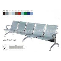 供应5人位机场椅 医院等候椅 机场公共座椅 五人位金属骨架座椅