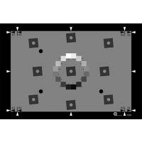 静态相机斜边ISO分辨率测试卡TE275