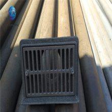友瑞牌侧墙式地漏 铸铁地漏DN150 丝扣地漏厂家