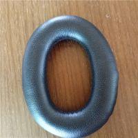 厂家生产耳机防风罩 降噪吸音海绵PU皮耳套头戴式