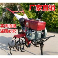 微耕除草机 小型农用除草机价格 多功能旋耕松土机