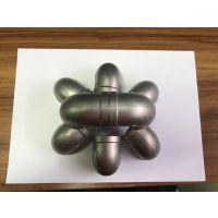 红河流体管用304不锈钢内丝弯头 接管φ60