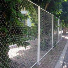 金属护坡网 喷塑勾花网 篮球场围栏