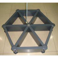 广东德普龙 黑色方形室内铝格栅 批发价格