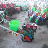 畅销多功能手推耘播机 汽油链轨式播种施肥机 小型松土翻地耘播机