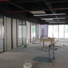 深圳高隔间 办公室玻璃隔断 隔墙门