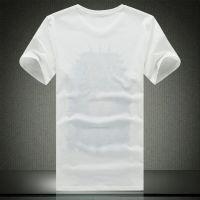 忆惜格罗 夏季男士短袖T恤圆领人像体恤打底衫韩版半袖上衣男装黑白桑蚕丝潮