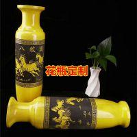 金丝楠木花瓶 大叶楠花瓶花插 家居摆件实木木雕工艺品