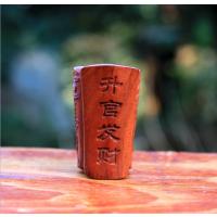 黄花梨酸枝木雕手把件 升官发财 木质风水小件工艺品