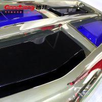 【厂家定制】吉利吸塑电镀车标 三维立体发光标识 批量质保五年