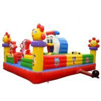 郑州易欣充气蹦蹦床室内小型儿童气垫玩具池 大型充气城堡家用蹦床滑梯