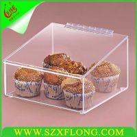 厂家供应亚克力食品盒,有机玻璃食品盒,亚克力盒