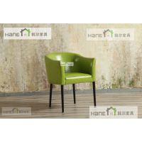 昆山海鲜餐厅桌椅 实木餐椅批发 韩尔现代品牌