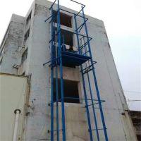 荆州室内链条式升降机 导轨式升降货梯 固定式液压升降台维修