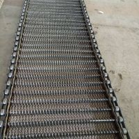 卓远厂家直销304不锈钢人字形网带 提升机网带 做工精细耐用