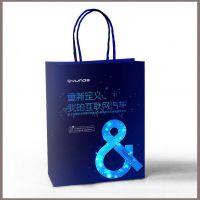 深圳广告手提袋定做,食品服装包装袋设计印刷,方底牛皮纸袋印刷