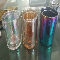 玻璃真空电镀琥珀色、真空镀膜加工、PVD镀膜、扑克房app实业
