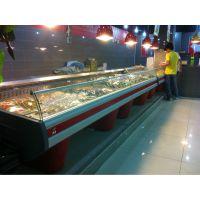 鲜肉冷藏展示柜超市冷柜风冷猪肉泡菜保鲜柜新款***热销