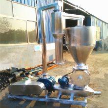 都用-粉煤灰装罐车气力吸粮机 半挂车装卸粮食气力吸粮机