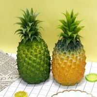 泰翔厂家定制PU仿真大号菠萝凤梨 假菠萝拍摄道具水果店装饰批发