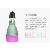 智恒远APP蓝牙音乐灯,蓝牙mesh智能球泡灯,RGB遥控调色氛围灯