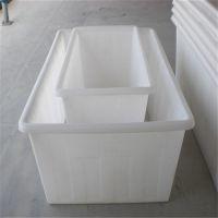 加厚食品级400L牛筋塑料水箱养殖水产箱储水箱方箱胶箱周转箱