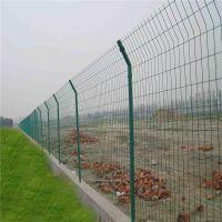边框护栏网 内蒙古包头高速护栏网 防护栏绿色优盾丝网