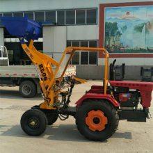志成工程机械价格低廉 建筑工地用ZL06装载机 养殖场牧场青储抓草机