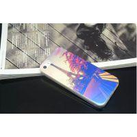 新款苹果X手机壳IMD蓝光防刮自修复保护套情侣几何图形iphone6/7p