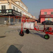 高杆作物喷杆喷雾机 手推式打药车农用机 启航绿化喷雾打药车