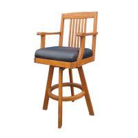 深圳众美德定做美式吧椅旋转高凳创意吧台椅高脚餐椅