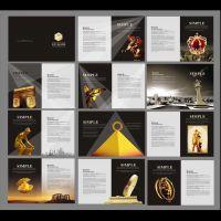 深圳彩色企业画册设计排版,说明书宣传册设计,产品目录书籍印刷定制