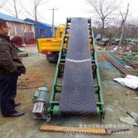 袋装化肥颗粒皮带输送机实施工地用皮带机运行节省劳动力  XY6
