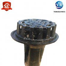 87型铸铁雨水斗 pvc接管雨水斗 友瑞重力型雨不斗DN110
