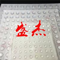 生产直销半圆形玻璃胶垫 半球形防滑胶垫 半球形自粘防撞胶垫