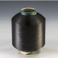 康洁丝物理抗菌纤维--抗菌防臭包覆纱K3075/36F,色纺黑色。