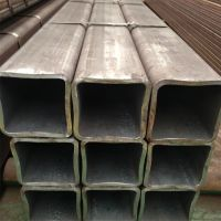 Q345B无缝方管16Mn无缝方矩管 可定做大口径厚壁方管 矩形