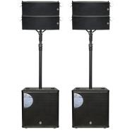TOPP PRO美国拓谱双5寸全频线阵音箱FLX-5电话62472597