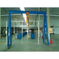 惠阳固定式龙门架,淡水移动式环链葫芦龙门架