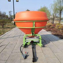 牧草草种撒播机 热销拖拉机悬挂式施肥机 车载式抛肥料机