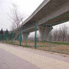 双边丝护栏网现货 坡地用的防护网 公路隔离栅
