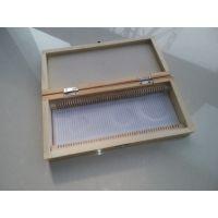 木质载玻片标本盒 天然实木 智科仪器