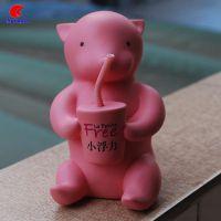 树脂十二生肖零钱罐 现代小动物摆件创意品狐狸储钱罐定制