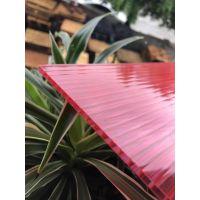 广东厂家供应10mm隔音塑料雨棚户外无声雨蓬板10mmPC阳光板中空板
