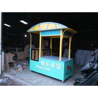 唐山景区木制售货车 贵阳商业街售货亭 常德食品连锁店售卖车
